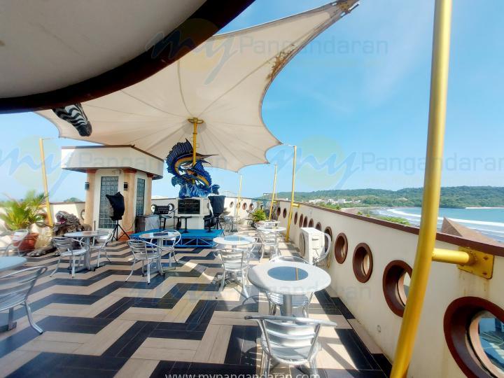 Tampilan Kapal Pesiar Krisna Beach Hotel Pangandaran