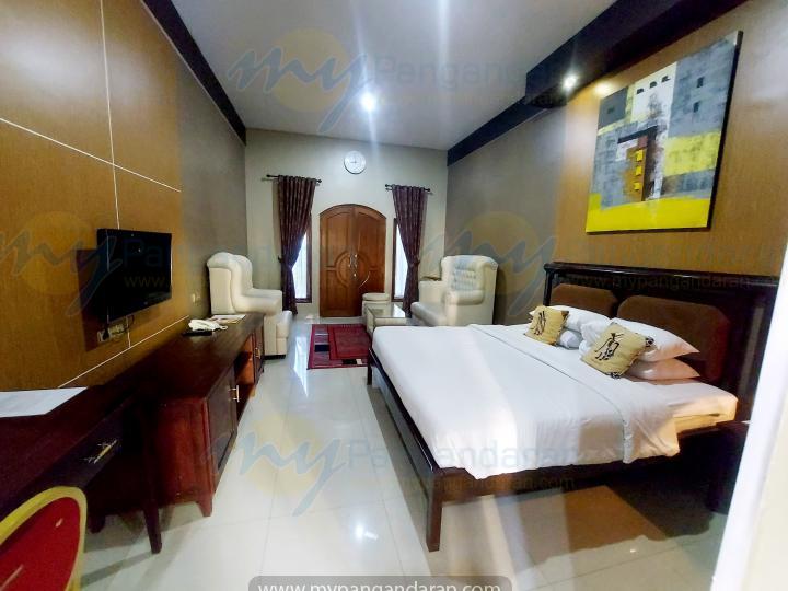 Tampilan Executive Room Krisna Beach Hotel Pangandaran<br />