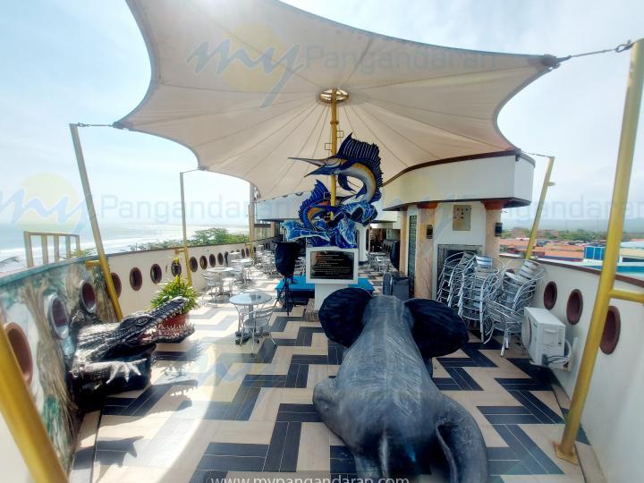 Tampilan Krisna Beach Hotel Pangandaran